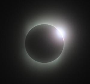 2009年7月22日鹿児島県喜界島皆既日食